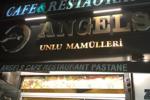 Angels Cafe Restaurant Pastine İstanbul